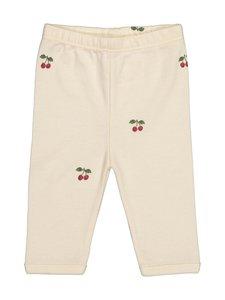 Konges Sløjd - New Born Pants Cherry -housut - CHERRY | Stockmann