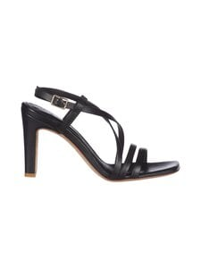 BIANCO - Biadeedee Cross Sandal -nahkasandaalit - 100 BLACK | Stockmann