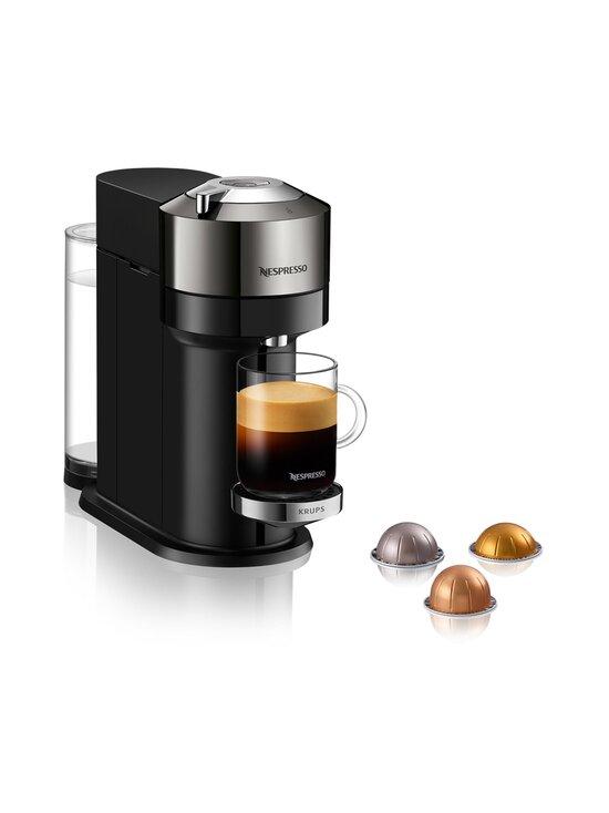 Nespresso - Nespresso Vertuo Next Deluxe By Krups -kapselikeitin - CHROME | Stockmann - photo 1