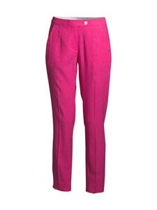 GANT - STRETCH LINEN TAPERED -housut - 673 CABARET PINK | Stockmann