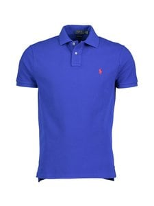 Polo Ralph Lauren - Custom Slim Fit -pikeepaita - 3EBG BLUE | Stockmann