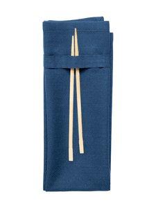 The Organic Company - Napkin-lautasliina 40 x 50 cm - DARK BLUE (TUMMANSININEN) | Stockmann