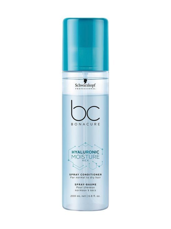 Schwarzkopf Professional - Bonacure Hyaluronic Moisture Kick Spray Conditioner -hoitosuihke 200 ml - NOCOL | Stockmann - photo 1