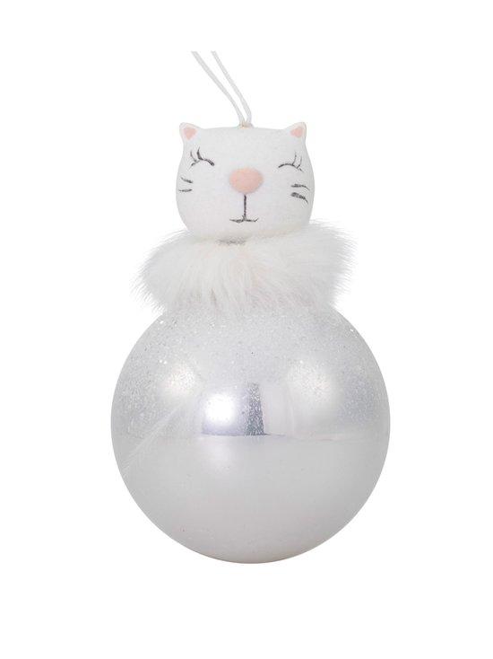 Weiste - Pallo Cat Baubles -joulukoriste 65 mm - PINK | Stockmann - photo 1