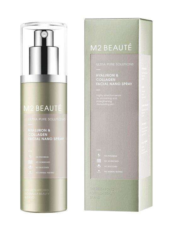M2 Beauté - Ultra Pure Solutions Facial Nano Serum Spray Hyaluron & Collagen -kasvoseerumisuihke 75 ml - NOCOL   Stockmann - photo 1