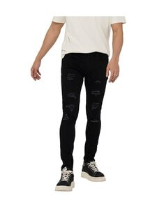 Only & Sons - OnsWarp Life Skinny Fit -farkut - BLACK | Stockmann