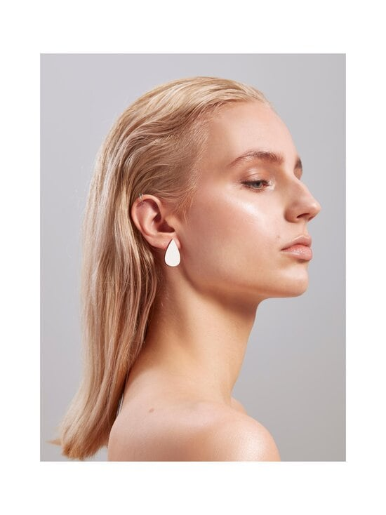 Uhana - Drop Stud Classics -korvakorut - WHITE | Stockmann - photo 3