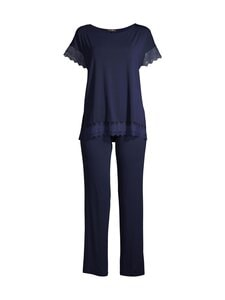 Vanilla - Pyjama - 03 NAVY BLUE   Stockmann