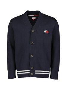 Tommy Jeans - Tjm Badge Textured Cardigan -neuletakki - C87 TWILIGHT NAVY   Stockmann