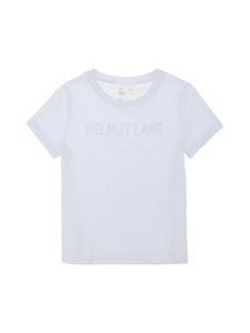 Helmut Lang - Monogram Baby Tee -paita - GLACIER - GL8 | Stockmann