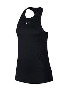 Nike - Pro Mesh Tank -treenitoppi - 010 BLACK/WHITE | Stockmann