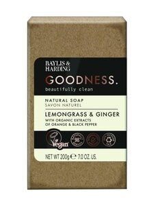 Baylis & Harding - Lemongrass & Ginger Soap bar -saippua 200 g | Stockmann