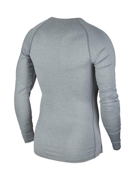 Nike - Pro Tight-Fit Long-Sleeve Top -treenipaita - SMOKE GREY/LT SMOKE GREY/BLACK   Stockmann - photo 2