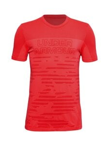 Under Armour - UA Seamless T-Shirt -paita - BETA / VERSA RED - 628 | Stockmann