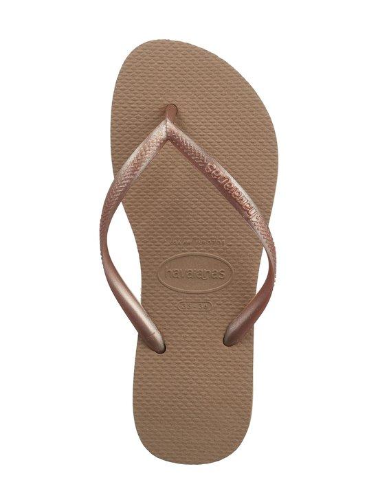 Havaianas - Slim Flip Flops -varvassandaalit - 3581 ROSE GOLD | Stockmann - photo 2