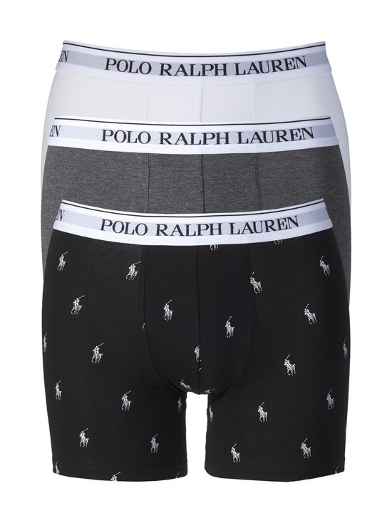 Polo Ralph Lauren - Boxer Brief -bokserit 3-pack - MULTICOLORPATTERN   Stockmann - photo 1