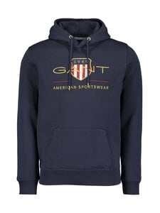 GANT - Archive Shield Hoodie -huppari - 433 EVENING BLUE | Stockmann