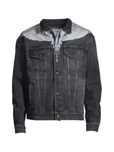 MARCELO BURLON - Wings Stonewash Slim- farkkutakki - BLACK | Stockmann