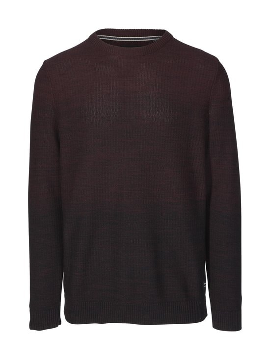 Jack & Jones - JjeGraham Knit Crew Neck -puuvillaneule - PORT ROYALE | Stockmann - photo 1