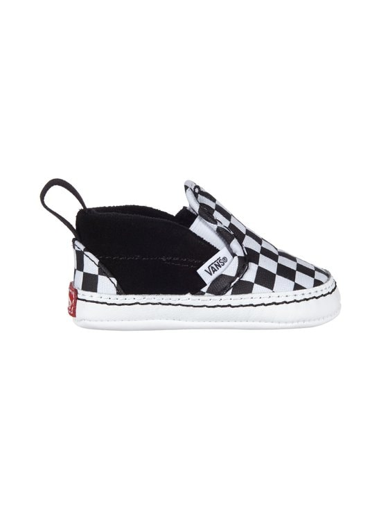 Vans - Checker Slip-On V Crib -kengät - (CHECKER) BLACK/TRUE WHITE | Stockmann - photo 1