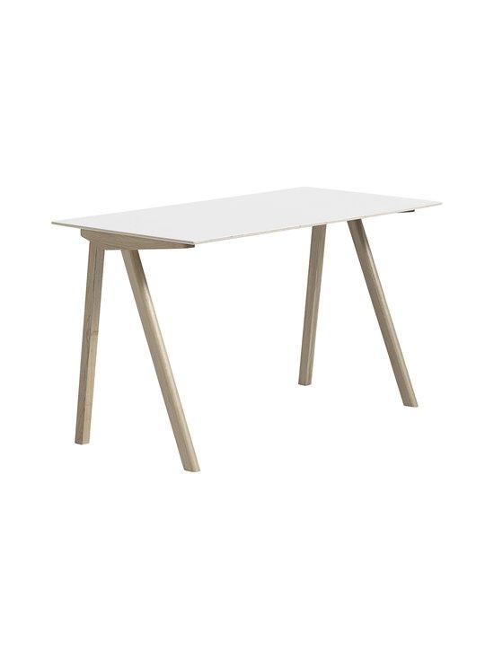 HAY - Copenhague CPH90 -työpöytä 130 x 65 x 74 cm - SOAPED / WHITE | Stockmann - photo 1