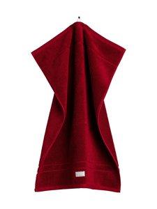 Gant Home - Organic Premium -pyyhe 50 x 70 cm - 645 DARK RED | Stockmann