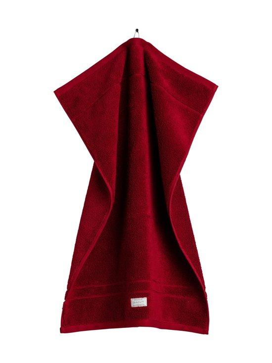 Gant Home - Organic Premium -pyyhe 50 x 70 cm - 645 DARK RED   Stockmann - photo 1