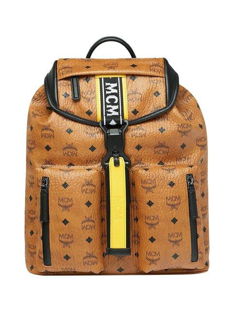 Raymonde Two Pocket Backpack in Visetos -reppu