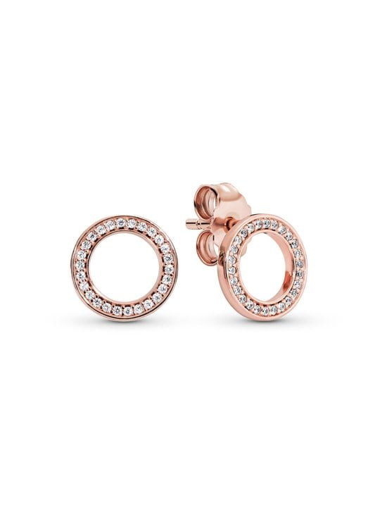 Pandora - Rose Stud -korvakorut - ROSE | Stockmann - photo 1