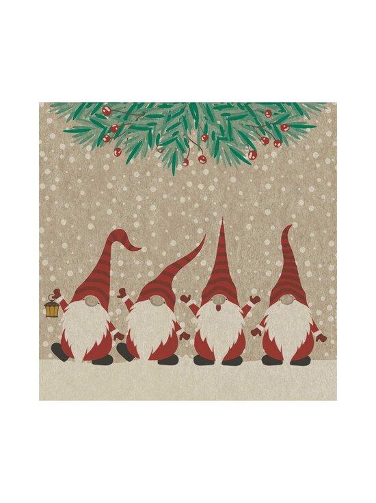 Paper+Design - Happy Santas -servetti 33 cm - MULTI-COLOUR | Stockmann - photo 1