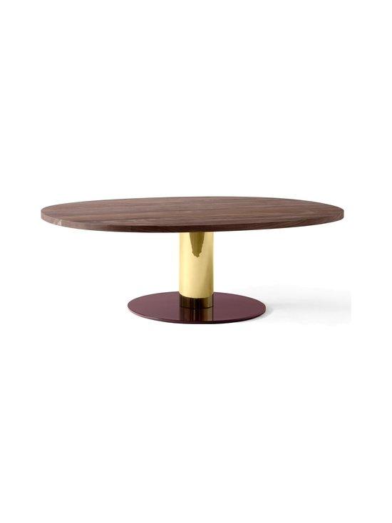 &tradition - Mezcla JH21 -pöytä 120 x 90 x 40 cm - WALNUT/BRASS/BURGUNDY | Stockmann - photo 1