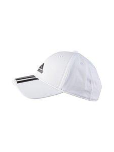 adidas Performance - Baseball 3-Stripes -lippalakki - WHITE/BLACK   Stockmann