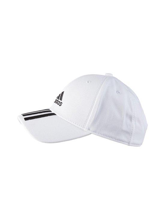 adidas Performance - Baseball 3-Stripes -lippalakki - WHITE/BLACK   Stockmann - photo 1
