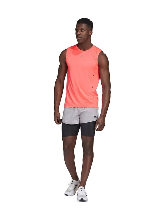 adidas Performance - Heat.Rdy Sleeveless Tee -treenipaita - SIGNAL PINK | Stockmann - photo 4
