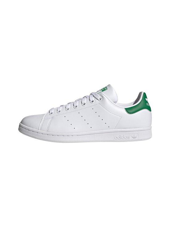 adidas Originals - Stan Smith -tennarit - FTWR WHITE/FTWR WHITE/GREEN   Stockmann - photo 3