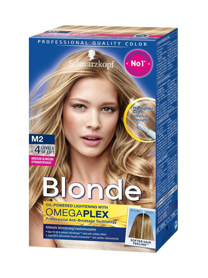 Blonde-vaalennusaine