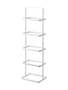 Yamazaki - Tower Shoe Rack -kenkähylly 22 × 18 × 77,5 cm - WHITE | Stockmann