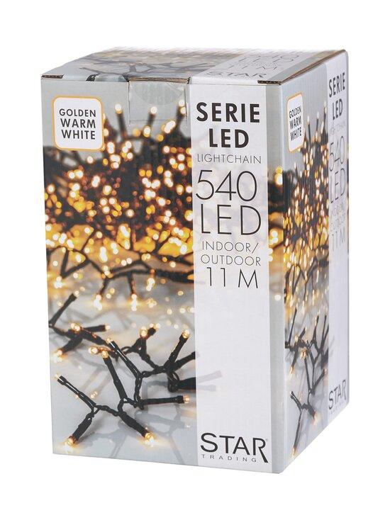 Star - Serie LED 540 -valosarja 10,8 m - BLACK   Stockmann - photo 1
