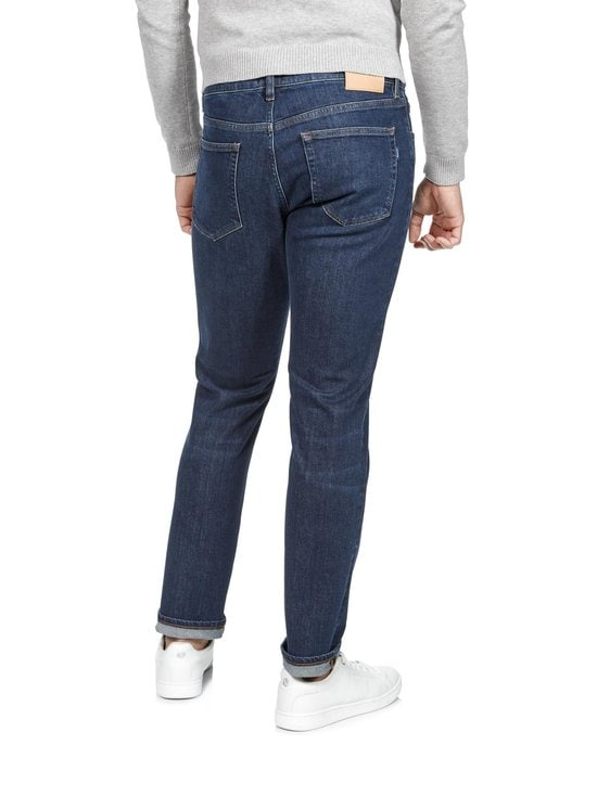 GANT - Slim Straight -farkut - 961 DARK BLUE WORN IN | Stockmann - photo 2
