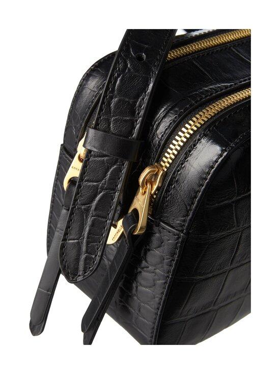 Coccinelle - Lea Croco Maxi Handbag -nahkalaukku - 001 NOIR   Stockmann - photo 3