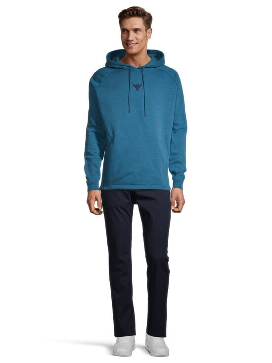 Under Armour - Project Rock Charged Cotton® Hoodie -huppari - 446 ACADIA / / ACADEMY | Stockmann - photo 2