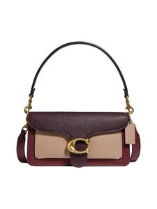 Coach - Tabby Shoulder Bag 26 In Colorblock -nahkalaukku - B4MZI B4/WINE MULTI | Stockmann