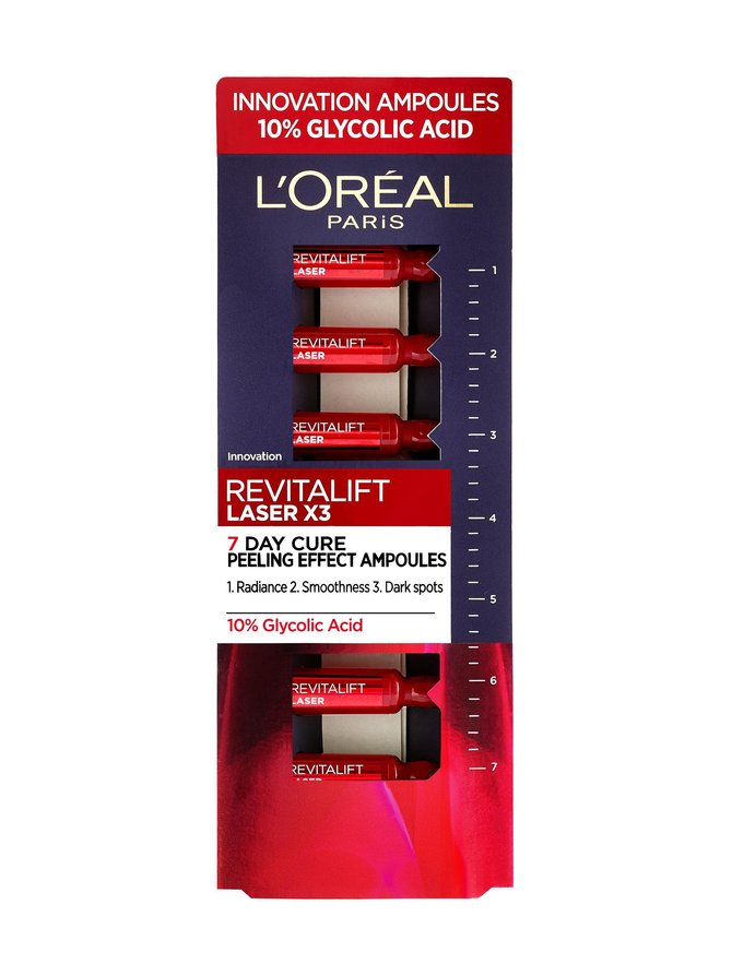 Revitalift Laser Renew 7-day cure Ampoules New Skin Effect -ampullit 7 x 1 ml