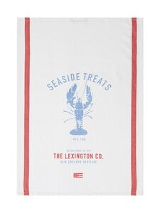 Lexington - Lobster Cotton Kitchen Towel -keittiöpyyhe - WHITE/RED/BLUE | Stockmann
