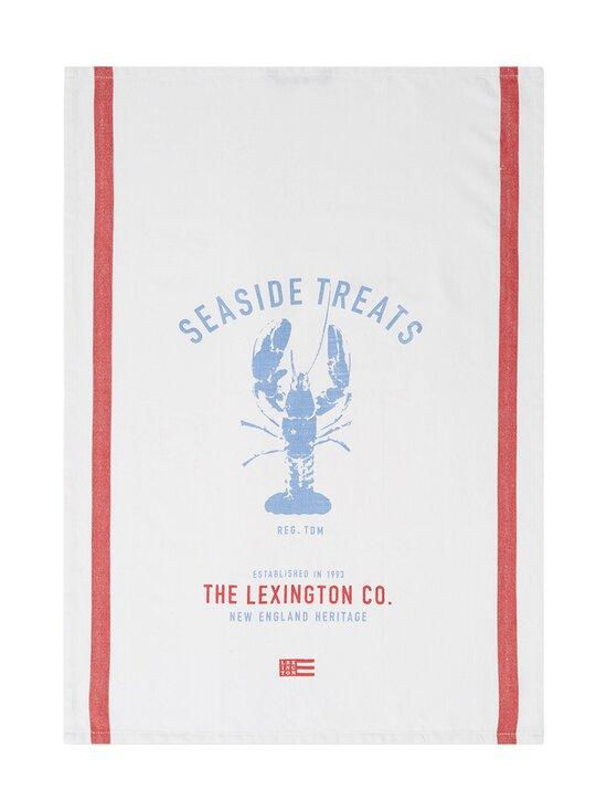 Lexington - Lobster Cotton Kitchen Towel -keittiöpyyhe - WHITE/RED/BLUE | Stockmann - photo 1
