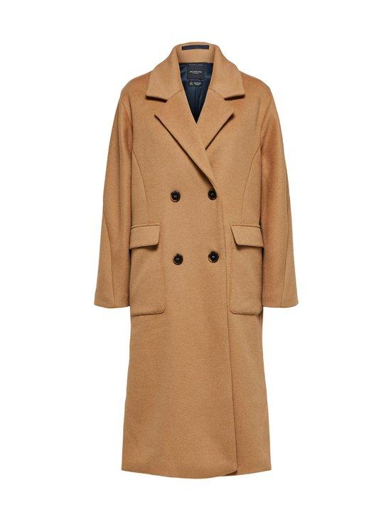 SlfElement Wool Coat -villakangastakki