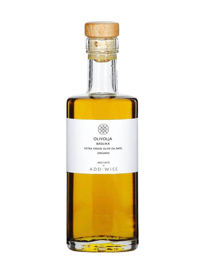 Extra Virgin Olive Oil Basilika -oliiviöljy 250 ml