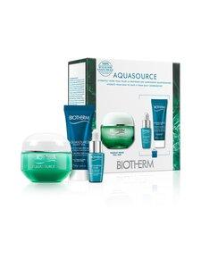 Biotherm - Aquasource Gel-Cream Normal to Combination Skin Set -ihonhoitopakkaus 50 + 7 + 20 ml | Stockmann