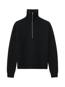 Totême - ZIP KNIT-merinovillaneule - BLACK | Stockmann
