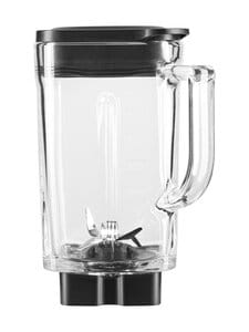 KitchenAid - Muovikannu K400-tehosekoittimeen 1,6 l - TRANSPARENT/BLACK | Stockmann